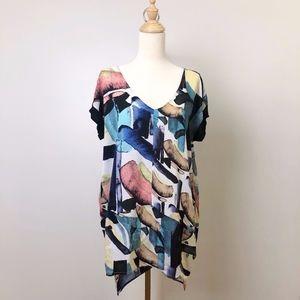 Zara W/B Collection Tunic